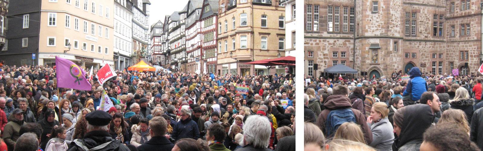 Demo in Marburg