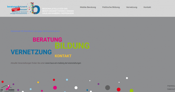 Die Homepage von https://www.regionalstelle-sued.de/
