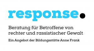 "Logo der Opferberatungsstelle ""response."""