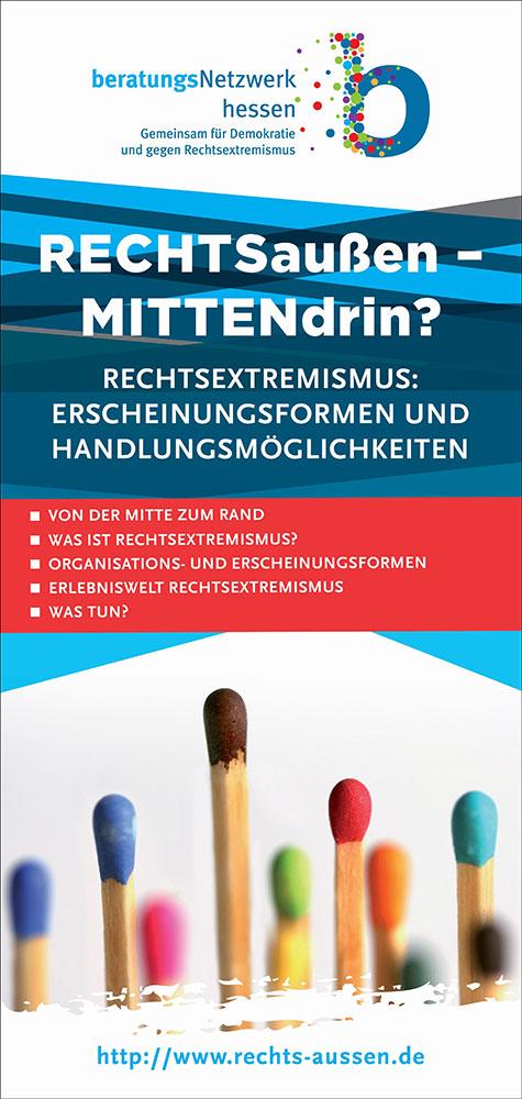 Flyer-Cover zur Ausstellung
