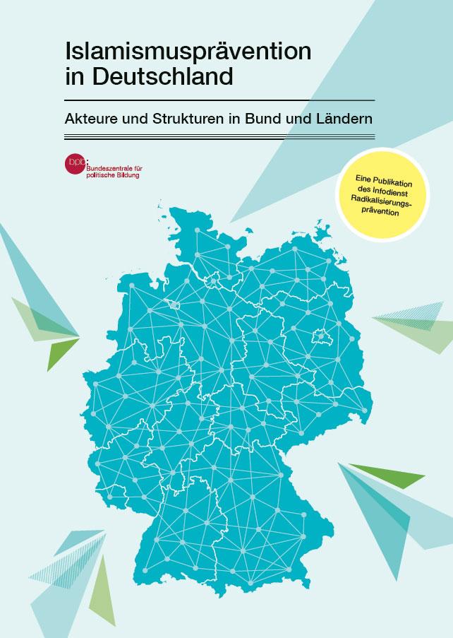 """Cover der neuen bpb-Publikation """"Islamismusprävention in Deutschland"""""""