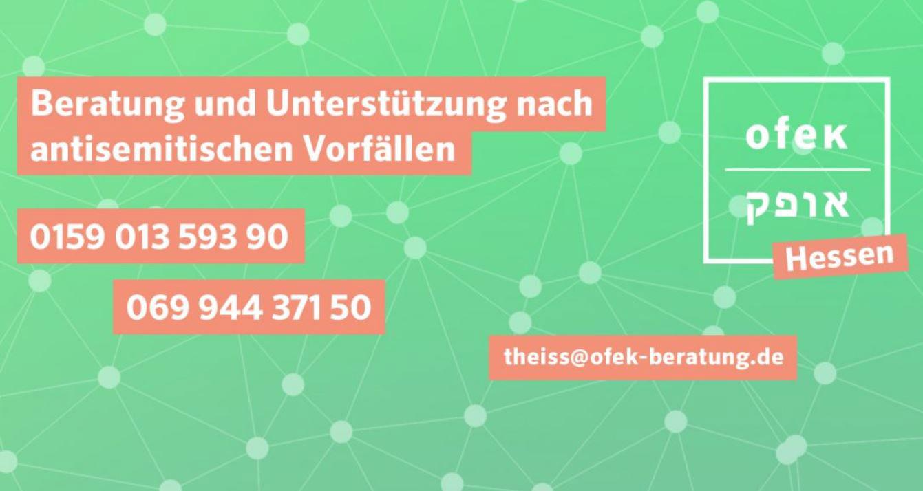 Neue Beratungsstelle bei antisemitischer Gewalt und Diskriminierung in Hessen