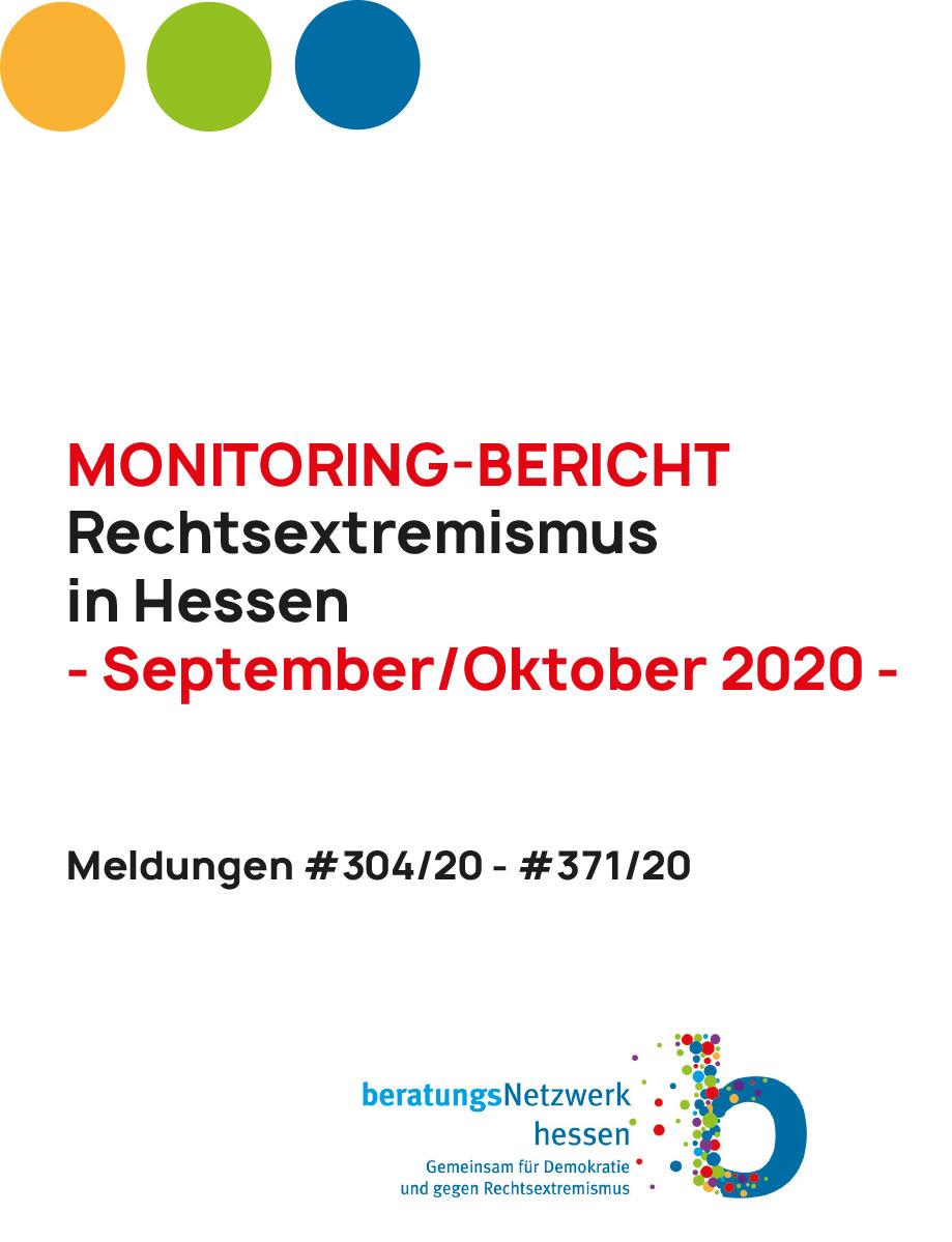 Monitoringbericht Hessen September Oktober 2020