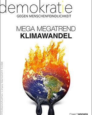 """Cover der neuen Zeitschriftenausgabe """"Demokratie gegen Menschenfeindlichkeit"""""""