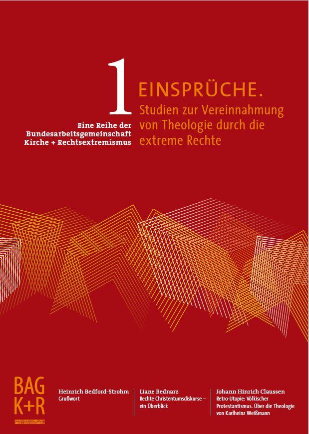 """Cover der ersten Ausgabe der Schriftenreihe """"Einsprüche"""""""