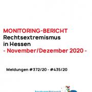 Hessen-Monitoring November-Dezember 2020