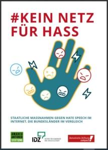 Cover der Studie #Kein Netz für Hass